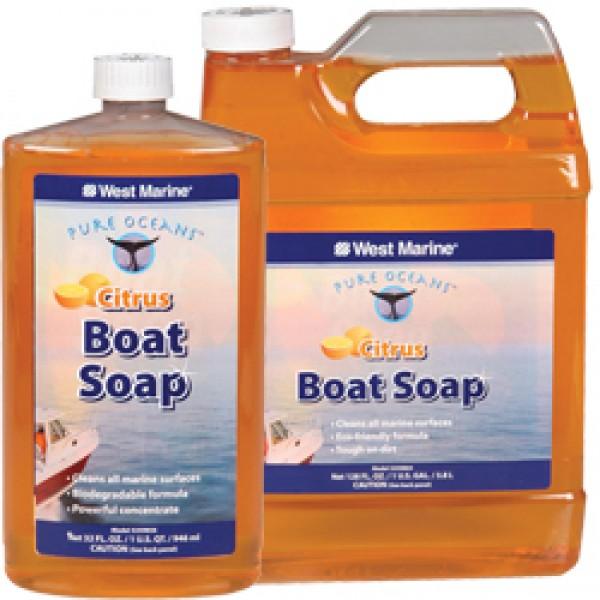 ΚΑΘΑΡΙΣΤΙΚΟ WEST BOAT SOAP CITRUS 1 GAL(3,8lit)
