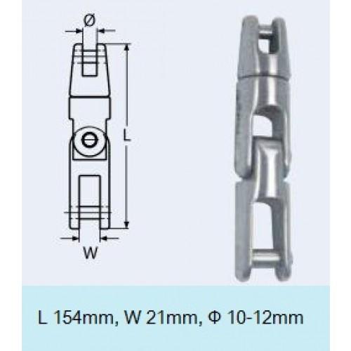 ΣΤΡΙΦΤΑΡΙ ΑΓΚΥΡΑΣ ΣΠΑΣΤΟΣ 10-12mm ΚΑΔΕΝΑ