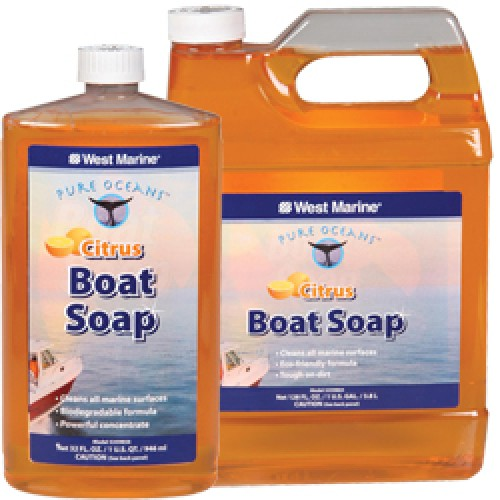 ΚΑΘΑΡΙΣΤΙΚΟ WEST BOAT SOAP CITRUS 1 GAL(3,8lit)