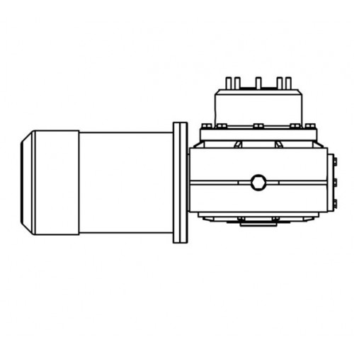 LEWMAR MOTOR-GEARBOX V4-V5